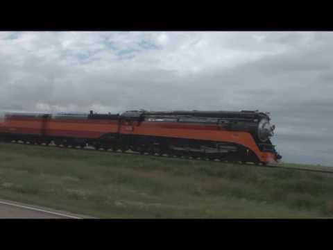 Steam Train SP 4449 in North Dakota