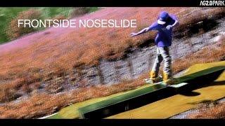 How to Frontside noseslide / Tutorial Frontside noselideslide / Drypark / Snowboarding