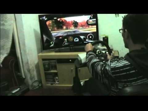 Forza Motorsport 3 Ferrari 458 Italia Manual Wheel w/ Clutch