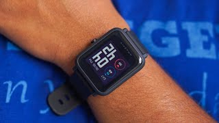 Huami Amazfit Bip S Smartwatch Unboxing Only
