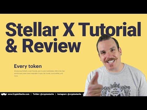 Stellar X: P2P Marketplace Exchange Tutorial & Review