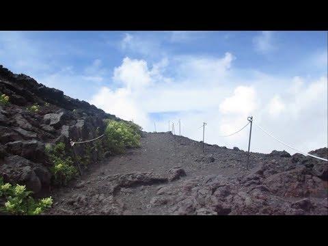 Slow Boy Climbs Mount Fuji All By Himself