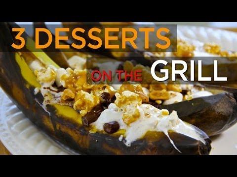 3 Ridiculous Desserts On The Grill: Churro Quesadillas, Banana Boats | FOODBEAST KITCHEN