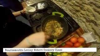 Lesley Waters Cookery Class - Video Review