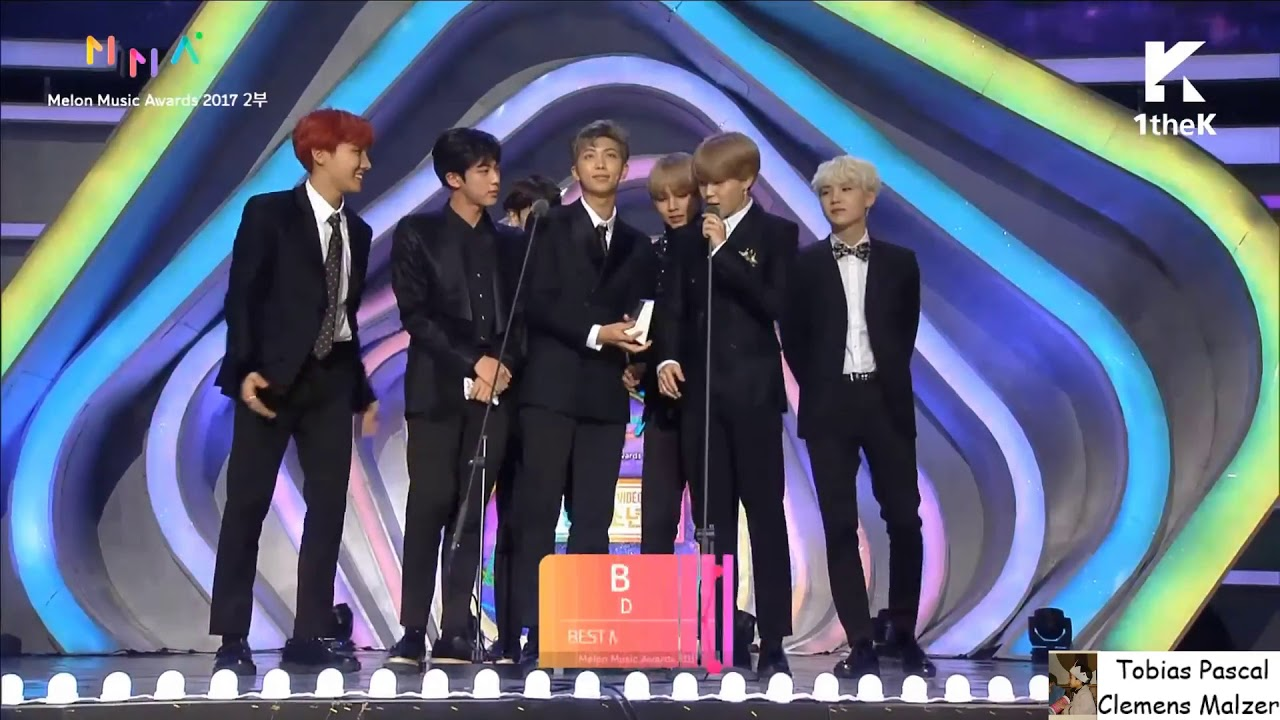 Bts Win Best Music Video Award Melon Music Awards