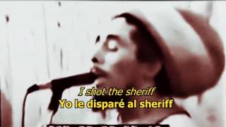 I shot the sheriff - Bob Marley (LYRICS/LETRA) (Reggae)