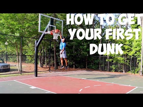 How To Get Your First Dunk (2 Steps)