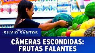 Frutas Falantes - The Talking Fruits Prank    Câmeras Escondidas (24/09/17)