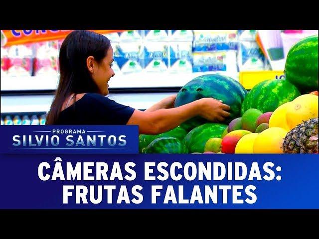 Frutas Falantes - The Talking Fruits Prank  | Câmeras Escondidas (24/09/17)