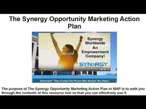 The Synergy Opportunity Marketing Action Plan