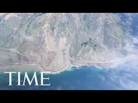 California Landslide Buries Big Sur Highway Under Rocks And Dirt | TIME