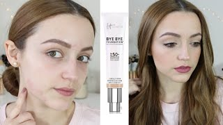Review & Demo | It Cosmetics Bye Bye Foundation