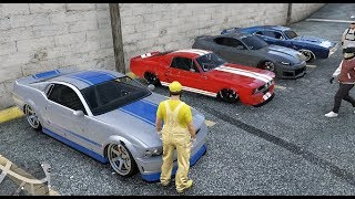 TUNER CAR MEET ON GTA 5 ONLINE PS4