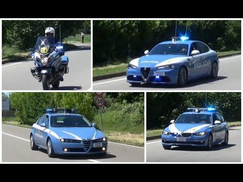 [COMPILATION] Scorta Polizia di Stato al Giro d'Italia // Italian Police Escorting Giro d'Italia