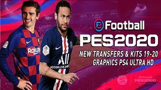 😍 INCREIBLE PES 2020 PPSSPP ANDROID FULL FICHAJES, CAMARA PS4, KITS 19-20 GRAFICOS HD