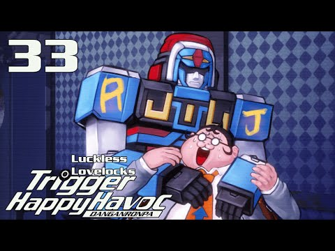 [PC] Danganronpa: Trigger Happy Havoc - Part 33 - Robo Justice on Trial - Let's Play