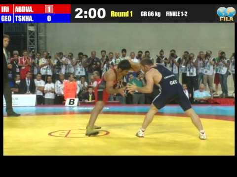 Saeid Abdevali vs Manuchar Tskhadaia