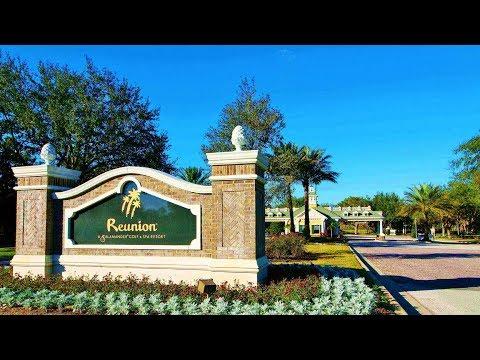 Reunion Resort Orlando FL 2018 4K Video Fly Over