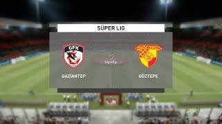 Gaziantep vs Goztepe   Süper Lig (08/02/2021)   Fifa 21