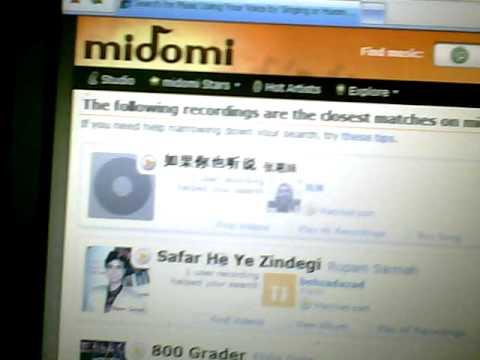 MIDOMI MUSIC IDENTIFIER FREE!!! WITHOUT APP