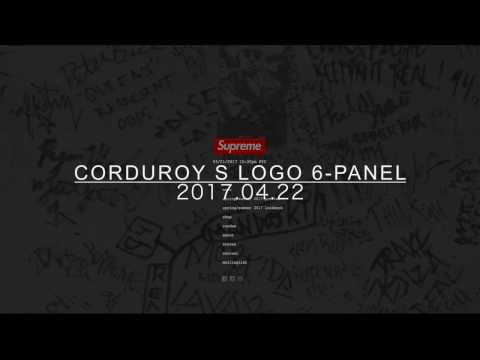 supreme online [Corduroy S Logo 6-Panel]