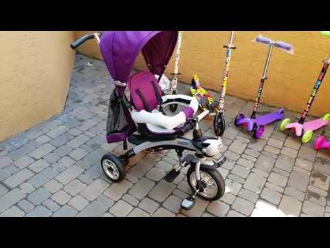 КРУТОЙ трехколесный велосипед с родительской ручкой. Стоит ли покупать ?