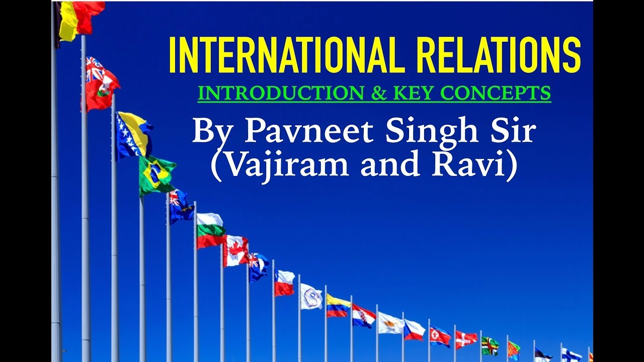 Pavneet Sir (VajiRam and Ravi) - Strategy Video for International Relations  || UPSC || IAS || IR