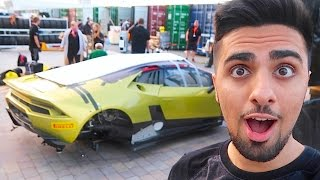 POOR LAMBORGHINI CRASHED WHILE RACING ...