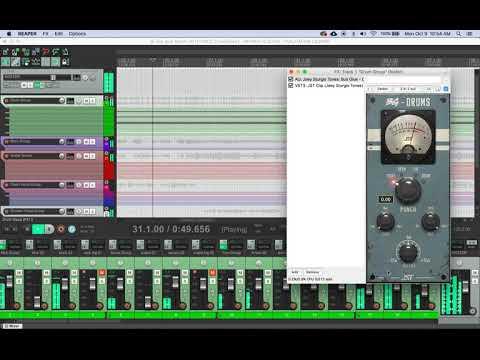 Bus Glue - First look at BG-Drums