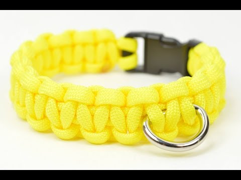 How to Make a Simple Paracord Dog Collar - BoredParacord.com