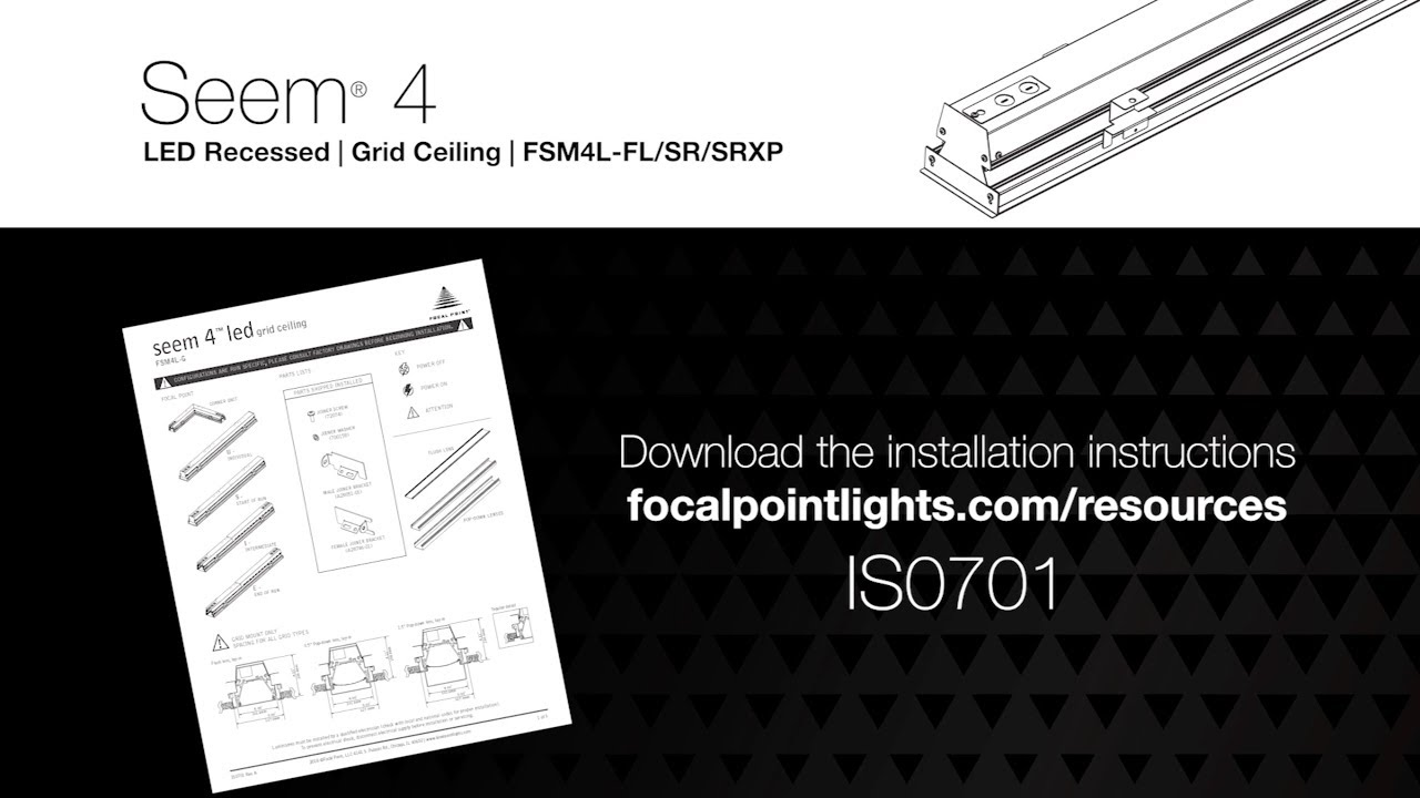Seem 4 LED FSM4L-FL/SR/SRXP | Focal Point Lights