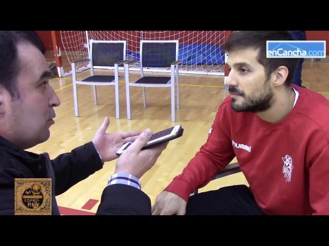 Copa del Rey�17  Media Day Baskonia  Entrevista Nicol�s Laprovittola