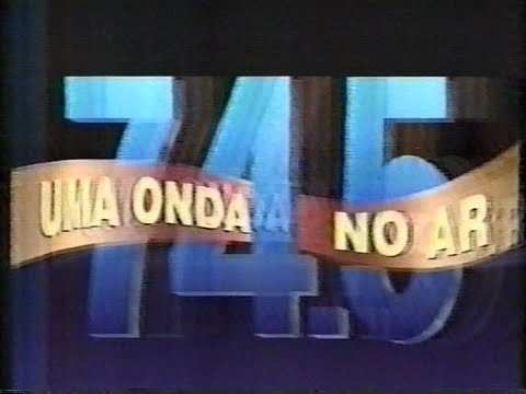 74.5 - Uma Onda no ar 15/07/1994 - Rede Manchete - Capítulo