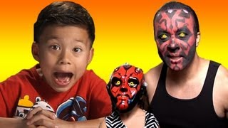 DARTH MAUL scares EVAN from EvanTubeHD!!!