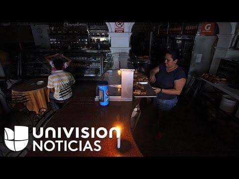 Reacciones violentas en Venezuela por racionamiento de energía eléctrica
