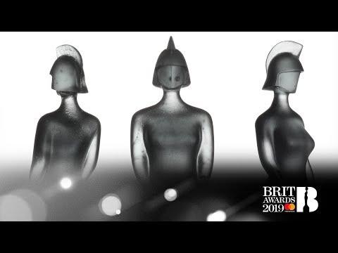 The BRITs 2019 award: Designed by Sir David Adjaye
