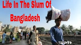 Korail Bosti The Largest Slum In Dhaka Bangladesh // Life Inside The Slum Area In Dhaka Bangladesh
