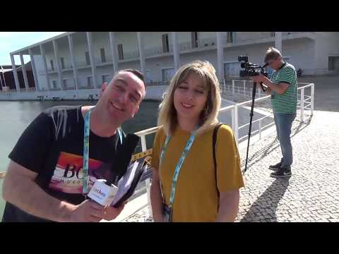 ESCKAZ in Lisbon: Interview with Aleksandra Jovanovska (Head of Press of Macedonia)