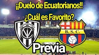 PREVIA. Ind del Valle vs Barcelona | Copa Libertadores. Última fecha