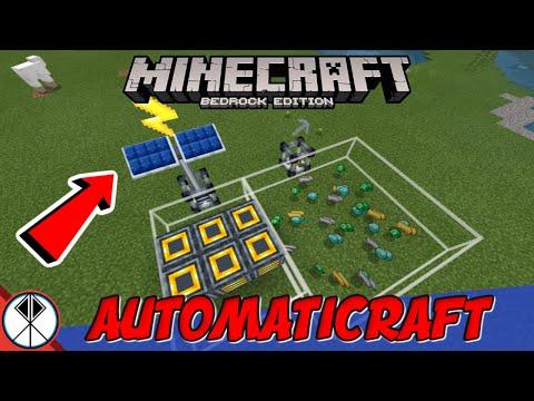 Minecraft AUTOMATICRAFT Addon! (MCPE/Xbox/Bedrock)