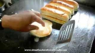Indian Style Burger & Hotdog   Indian Street Food Video 14