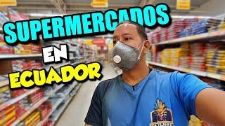 Comprando en un SUPERMERCADO de ECUADOR en tiempos de C0R0NAVlRUS