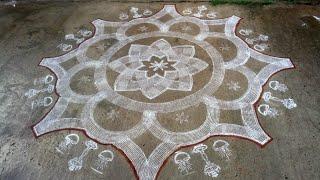 Karthigai Masam Rangoli   Kolam 1