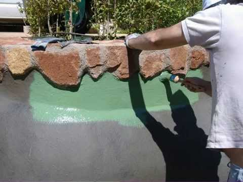 Impermeabilizacion piscina natural youtube for Pasos para construir una piscina