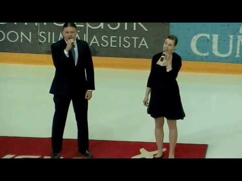 The Finnish National Anthem (Outi and Erik from Cardiant)
