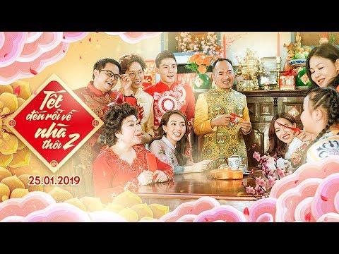 Thu Trang - Tiến Luật mang con trai cưng vào clip hài Tết
