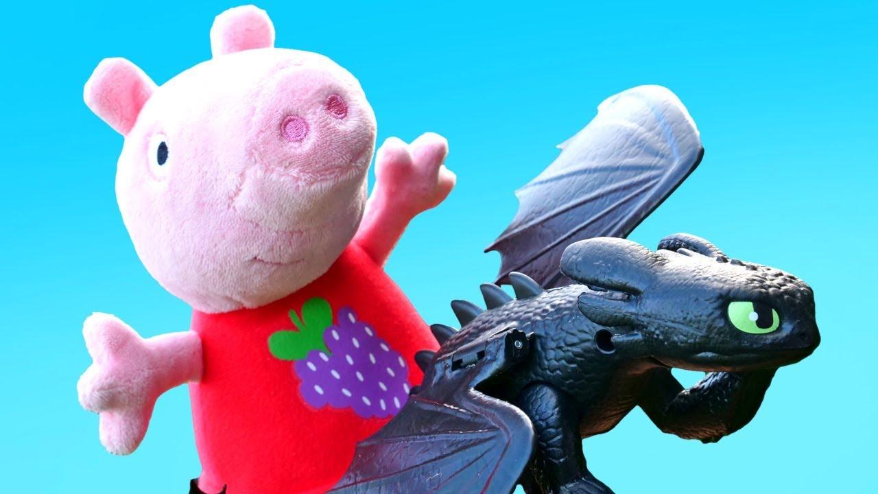Игрушки Свинка Пеппа — Мультики для малышей — Пеппа и ...