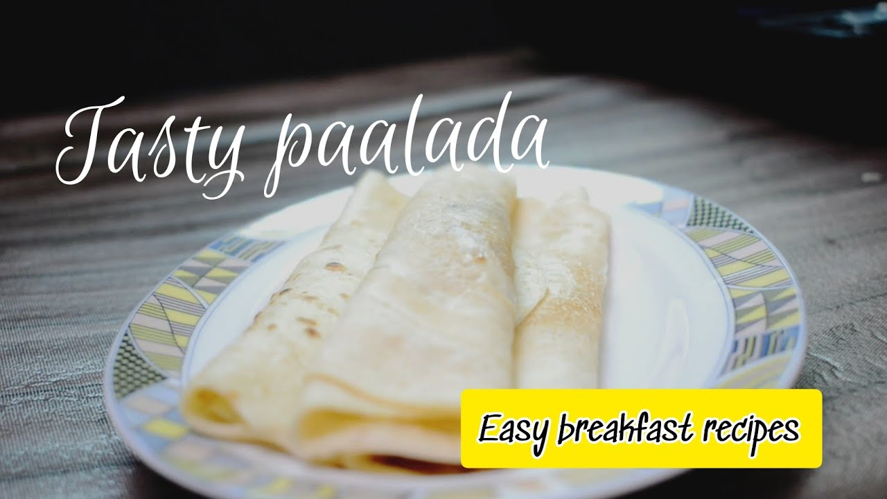 Tasty Paalada Recipe | Easy Breakfast Recipes