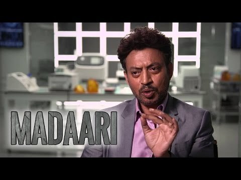 Madari irrfan khan Interview in Sandesh...
