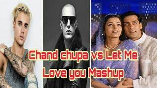 Hindi x English | Chand Chupa Badal Main vs Let Me Love You Mashup | DJ Stoner Remix.
